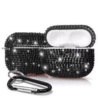 Diamond cases cover For AirPods rhinestone bling airpodspro case keychain