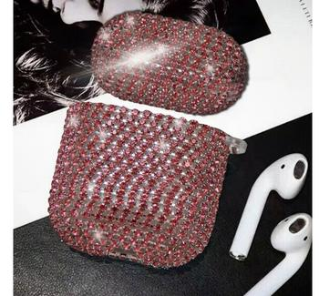 New Arrival Top Quality Luxury Design Gradient Crystal Earphone Case For Apple Airpods Pro 4 3 2 1 AirPod