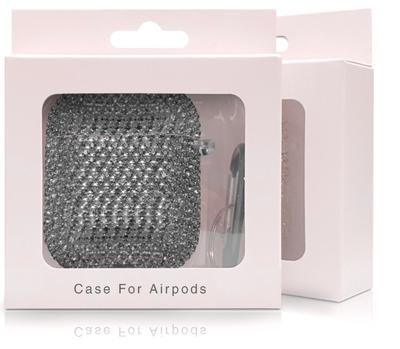 Top Quality Luxury Design Gradient Crystal Earphone Case For Apple Airpods