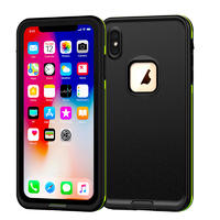 For iPhone Xs Waterproof Phone Case,   Rugged Cell Phone Protective Cover Case for iPhone X / Xs 5.8 inch