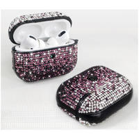 2020 Luxury Diamond Glitter Bling Cover Earphone Protector Case For Apple AirPods Pro New
