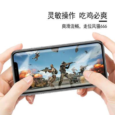 Strong anti fingerprint screen printing steel film for LG style3 mobile phone