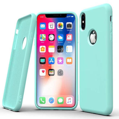 New 2.5mm Apple Silicone Case Original Liquid Silicone Mobile Phone Shell Cover For iPhone 12
